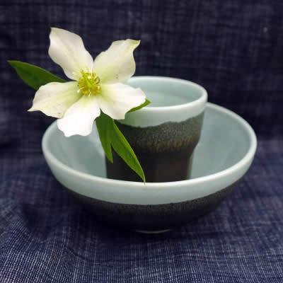 Lisa Donaldson Ceramics - cup and bowl