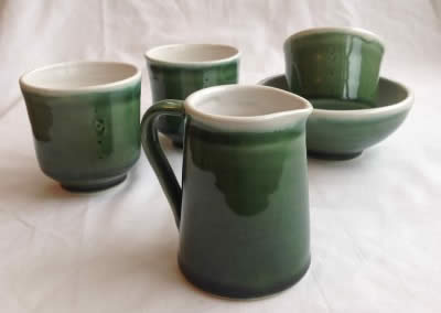 Lisa Donaldson Ceramics - Emerald Greenware