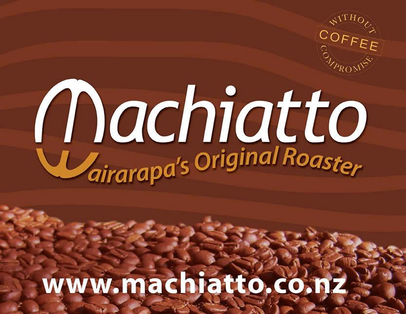 Lisa Donaldson and Machiatto coffee