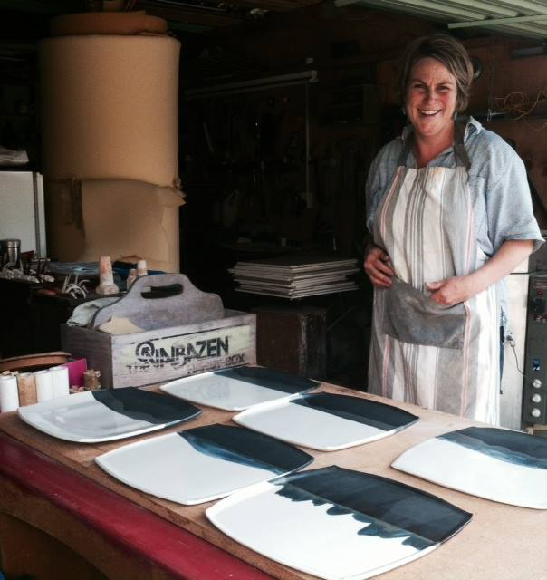 Lisa Donaldson Creating Platters For 40 Days